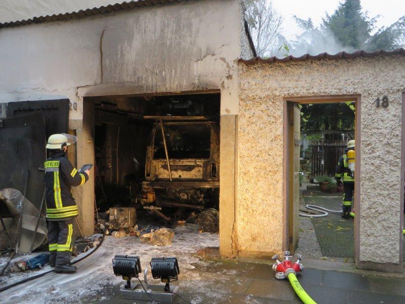 Garagenbrand